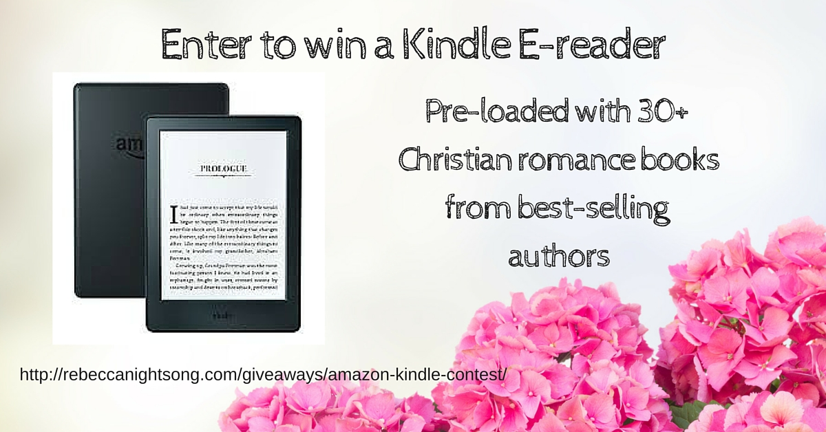 Enter to win a Kindle E-reader
